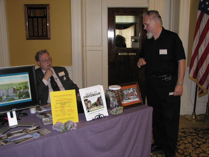 HAL President/City Historian Rob von Hasseln (left) and HAL Vice President Jerry Snyder